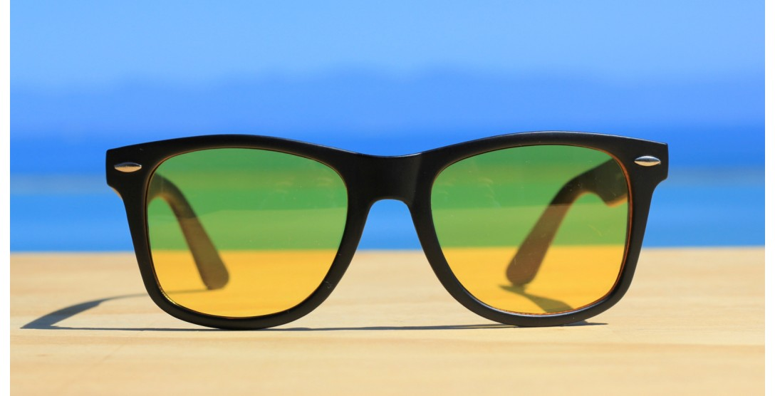 Classic Style Sunglasses, Night Driver