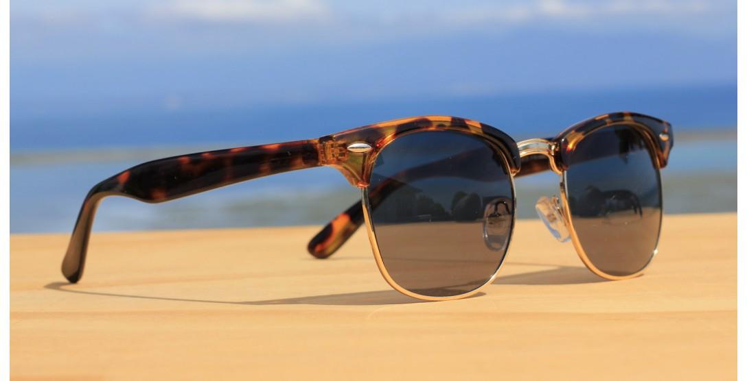 Classic Style Sunglasses, Dark Clubmaster
