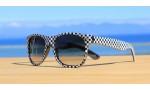 Classic Style Sunglasses, Checkers