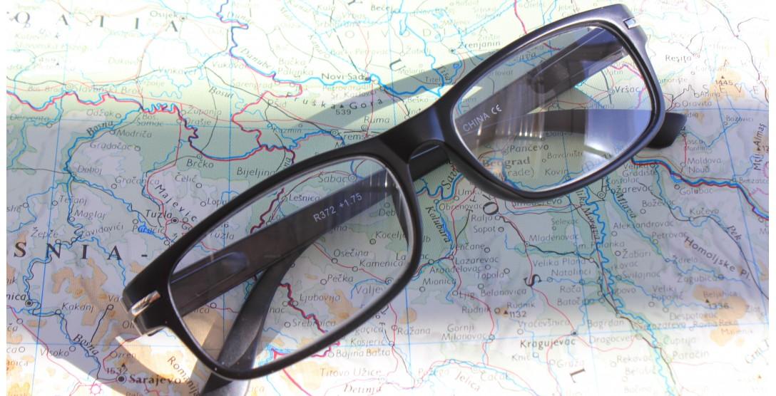 Reading Glasses, Reading Glasses R372 Black