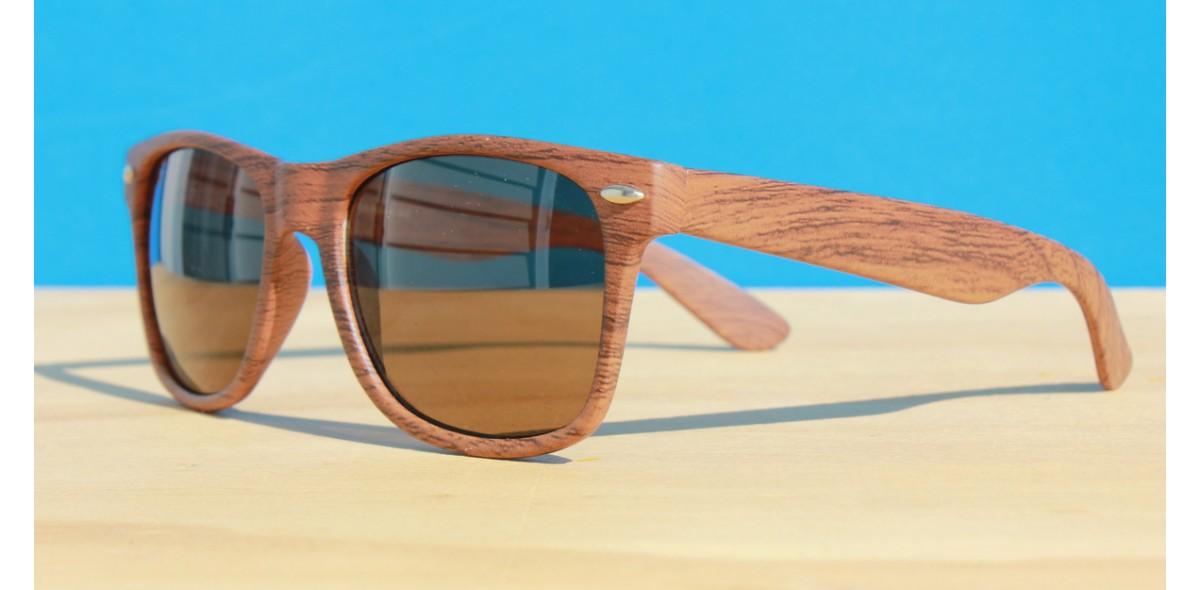 Classic Style Sunglasses, Birch