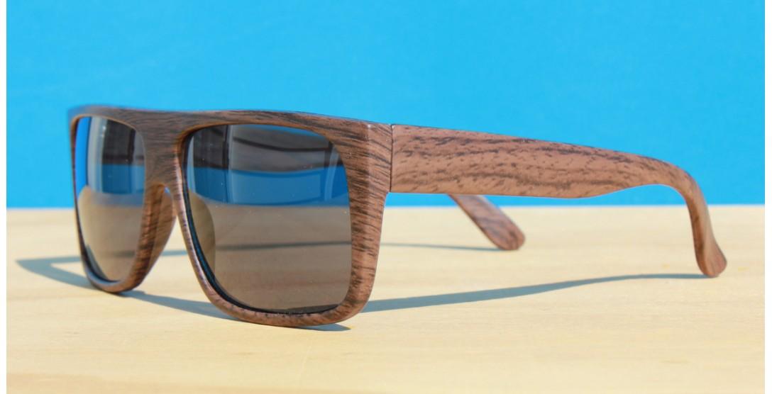 All Sunglasses, Flat Top Wood