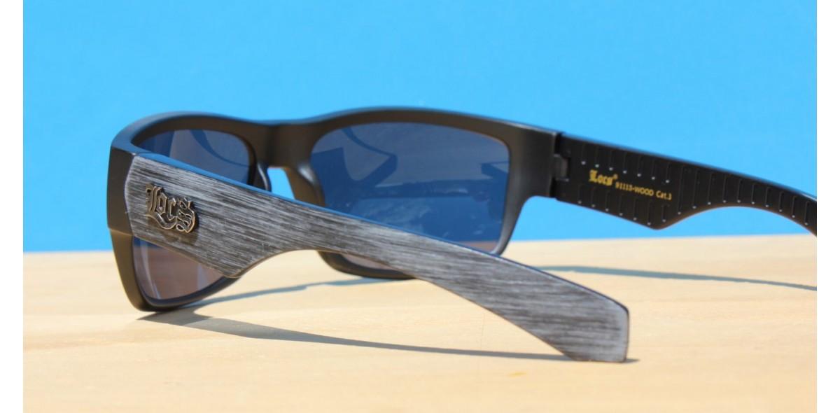 Mens Sunglasses, LOCS 91113-Wood