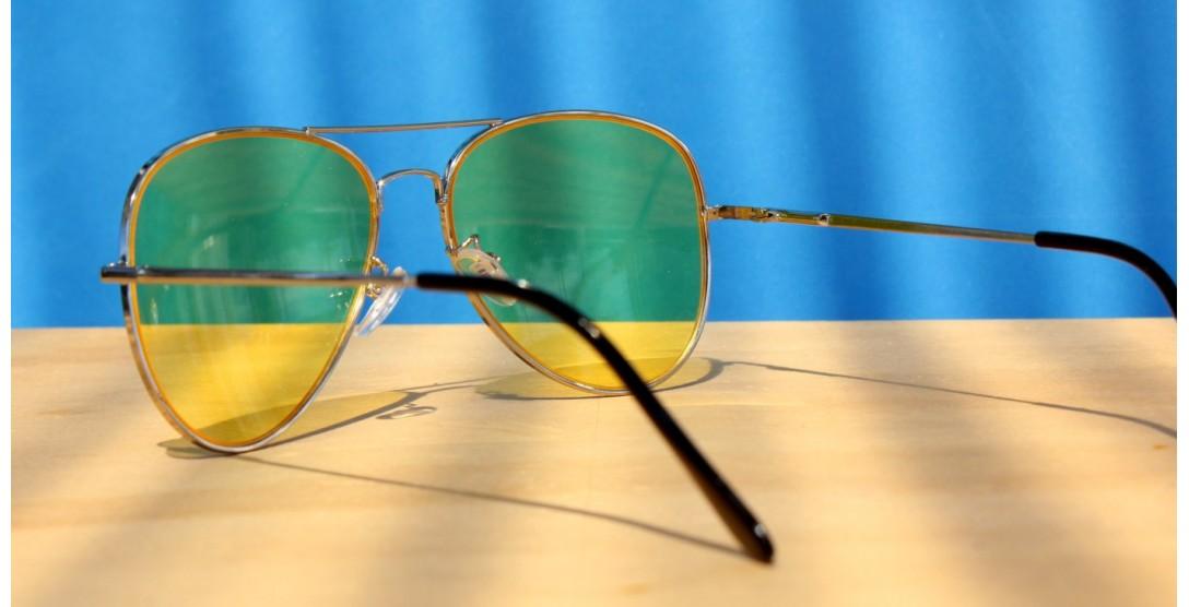 Men Sunglasses, Night Driver-Aviator