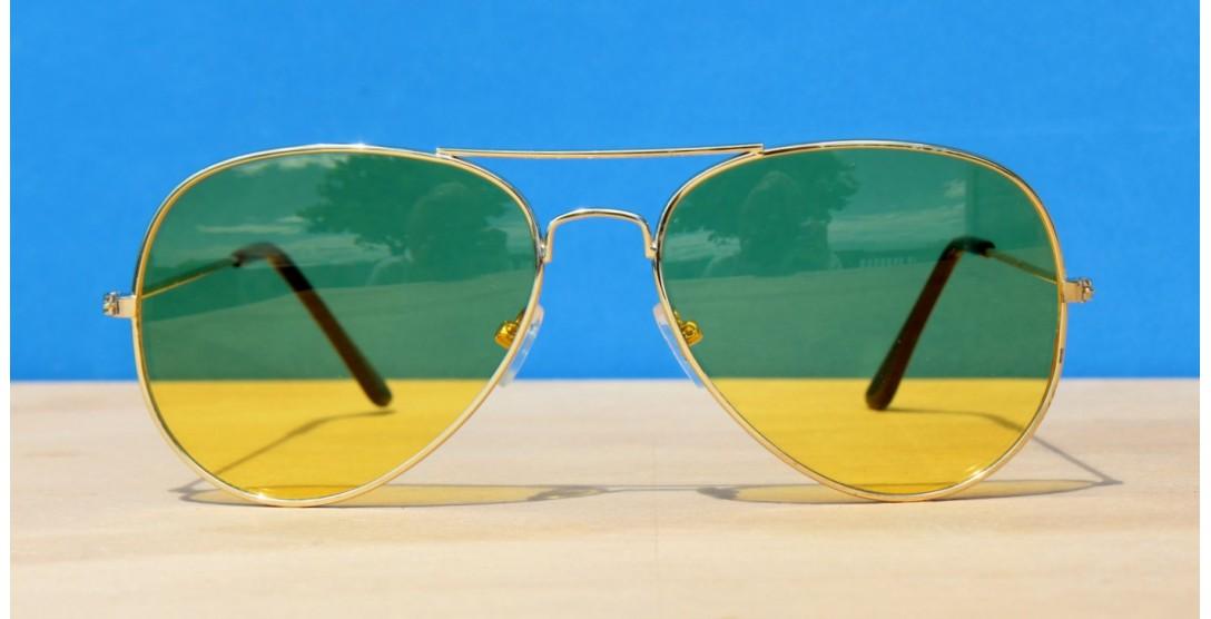 All Sunglasses, Night driving Aviators