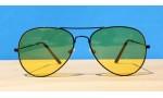 All Sunglasses, Night driving Aviators-Black