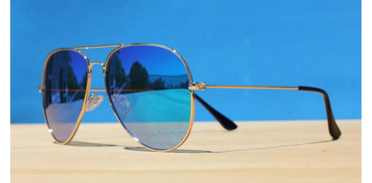 Mens Sunglasses, Fortune Aviator Polarised