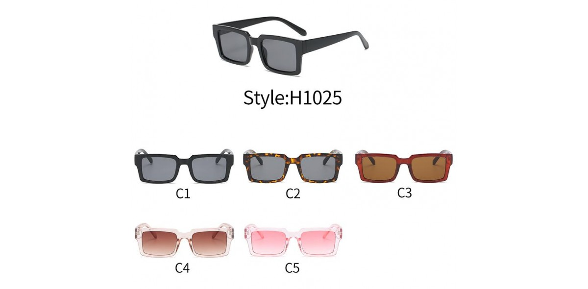 Wholesale Sunglasses, H1025 Retro Square