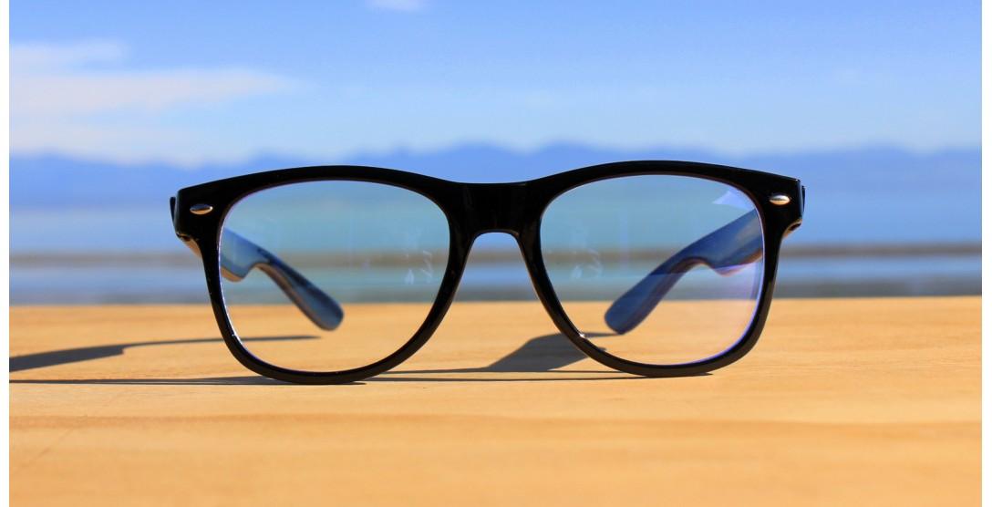 Blue Light Glasses, Blue Light Glasses 2004-Black
