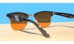 Classic Style Sunglasses, Ultra Blue Block -Gold