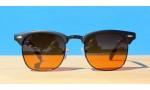 Classic Style Sunglasses, Ultra Blue Block -Black